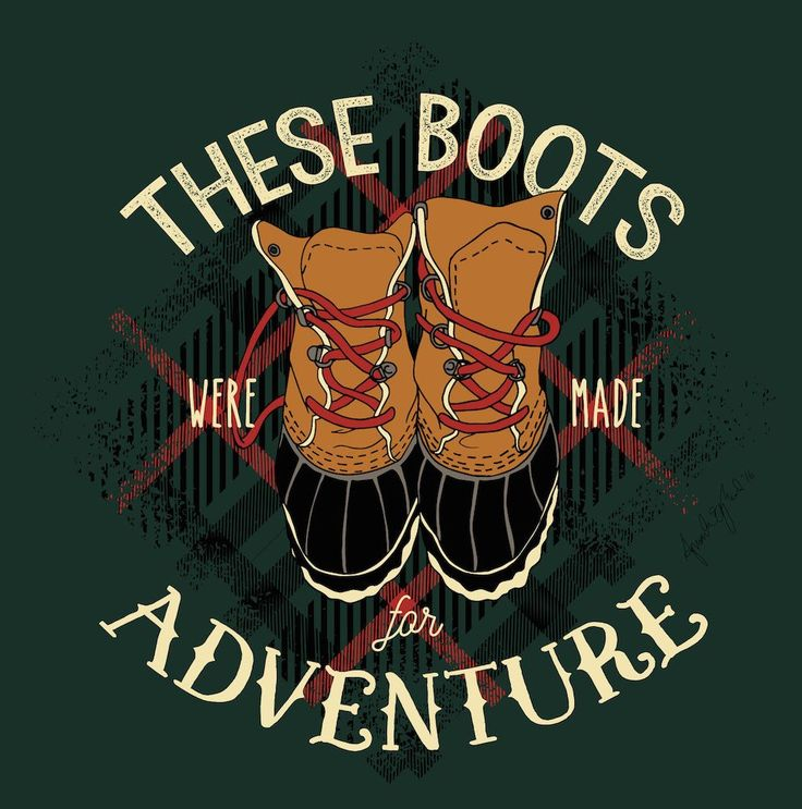 'These Boots Were Made for Adventure' Long Sleeve Tee – United