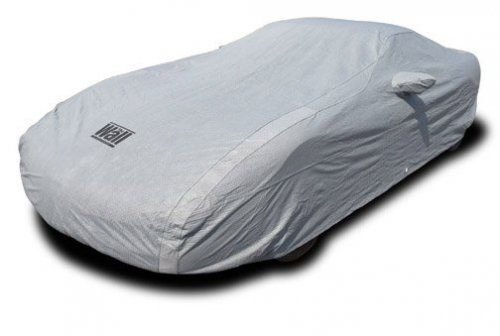 """C4 Corvette Car Cover The Wall W/Cable & Lock You do not need to spend a ton of money to get a quality outdoor car cover for your C5 Corvette. Our great looking, soft, value-priced indoor outdoor Corvette car cover is sure to put a smile on your face. Put the """"Wall"""" around your Corvette and keep it safe from the rain, snow, ice, tree sap, dirt and debris that nag outside parkers. Utilizes an advanced 3-layer design that stands up feature for feature with pricier covers, but costs you less."""