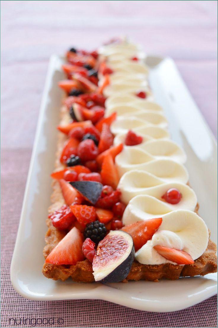 Tarte figues et fruits rouges