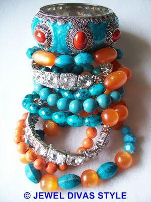 My Samantha Wills designer inspired Crossroads bracelet set
