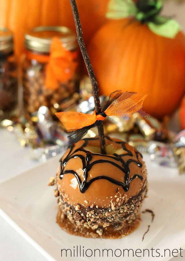 halloween celebrations with candy apples shop - Easy Halloween Candy Recipes
