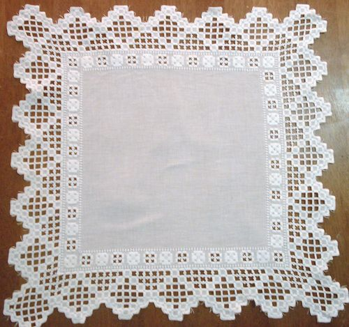 Vintage Hardanger Centerpiece Doily | Flickr: Intercambio de fotos