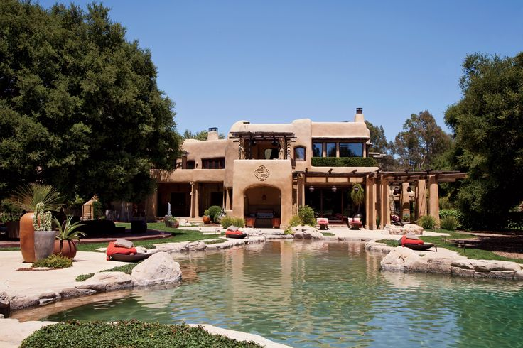 Дом Уилла Смита в Санта-Фе