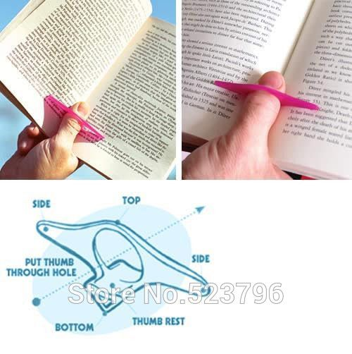 Convenient Multi Holder Books Bookmark Finger Ring Book Markers Books Stationery Glifts buy in the store Pink mushroom stationery shop on AliExpress