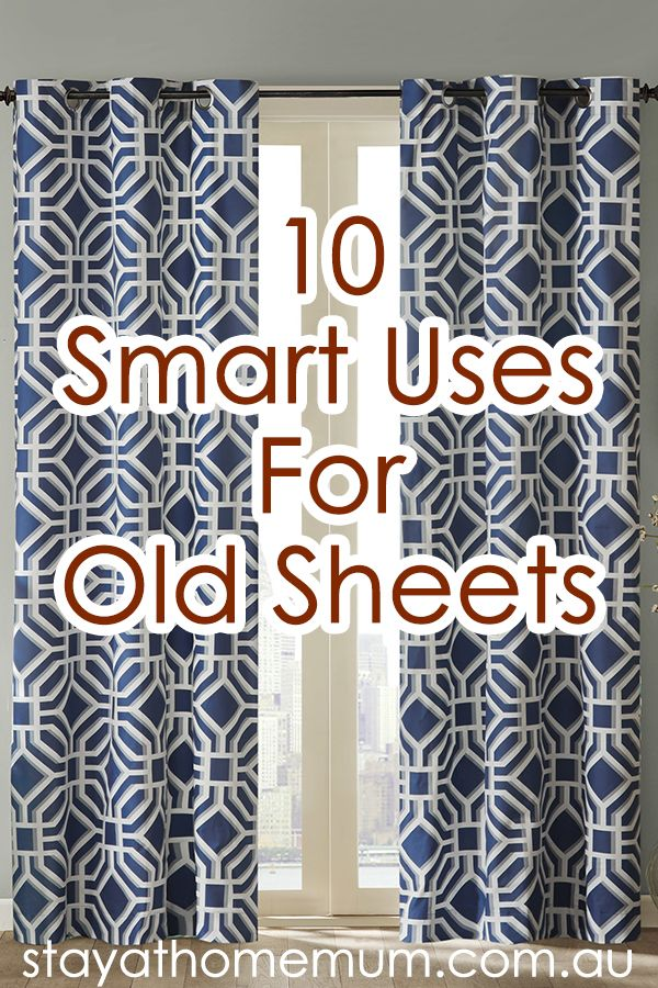 Torn, faded or just no longer fit - here are SAHM's ten smart uses for old…
