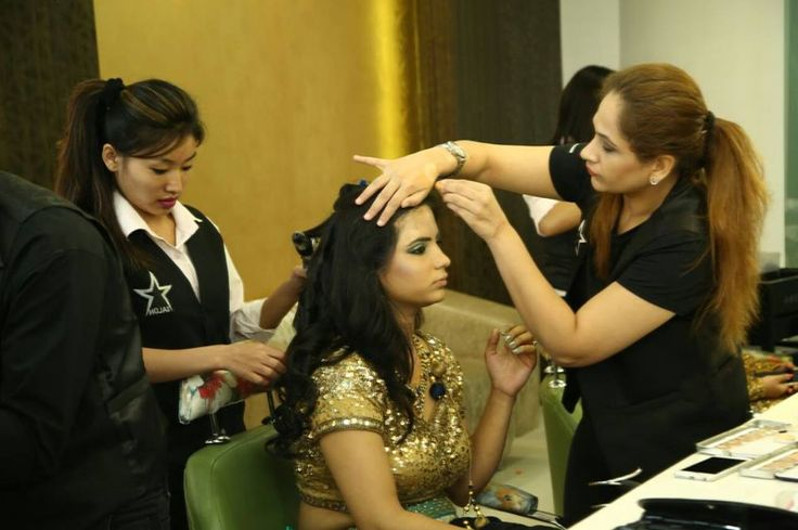 learn various technology Of Hair cutting and makeup By Our Professional Makeup artist,