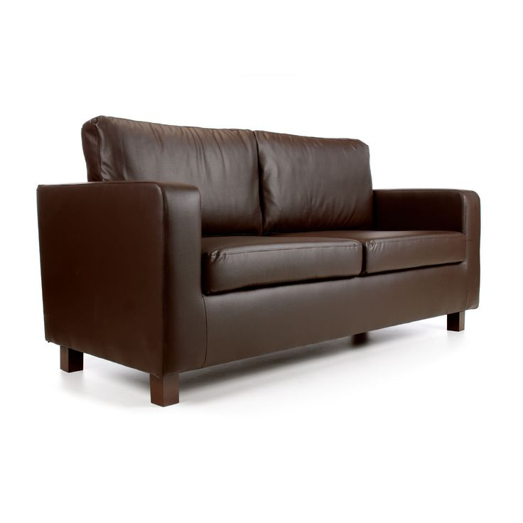 Max 3 Seater Faux Leather Sofa – Next Day Delivery Max 3 Seater Faux  Leather Sofa