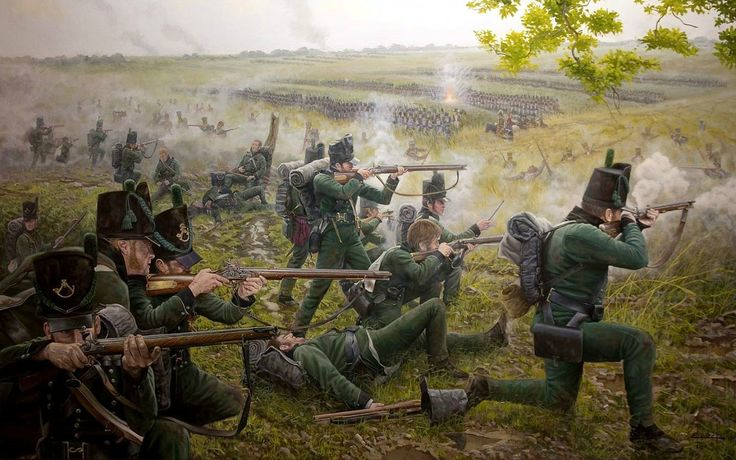 1815 Waterloo 95th Rifles - Ferre Clauzel