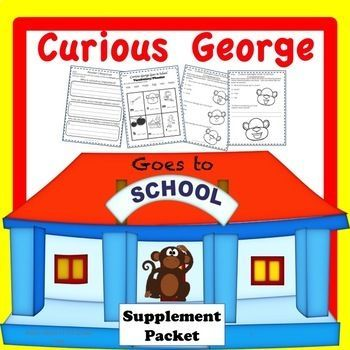 Curious George is perfect for primary reading. This is a packet that will supplement with activities to go along with your reading. Included target skills are sequence of events with graphic organizers, understanding fantasy, teacher bookmarks for discussion, reader's response for