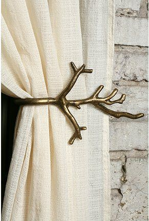 Branch Curtain Tie-Back from Urban Outfitters (2 for $24)