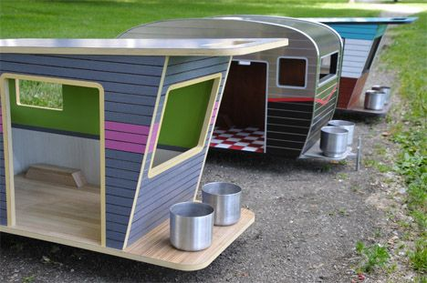 Miniature Dog Campers: Retro Glam Camping for Pets | Designs ...