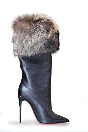 Christian Louboutin Canichissima 120 Black Leather Fur Bo... https://www.amazon.com/dp/B01J649YAC/ref=cm_sw_r_pi_dp_x_VviuybE79ZG3C