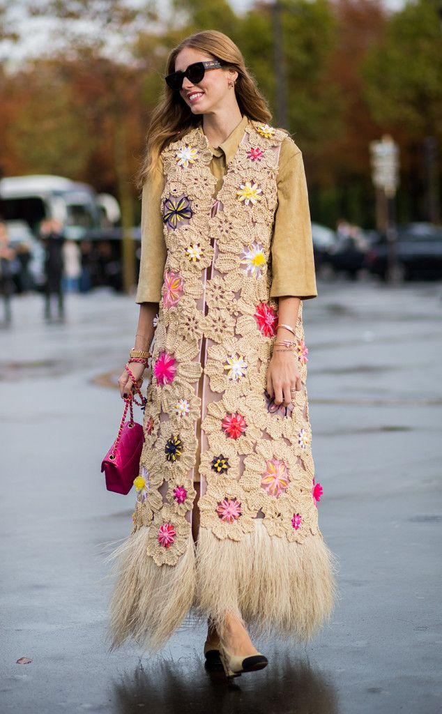 Chiara Ferragni from Street Style at Paris Fashion Week Spring 2016   E! Online