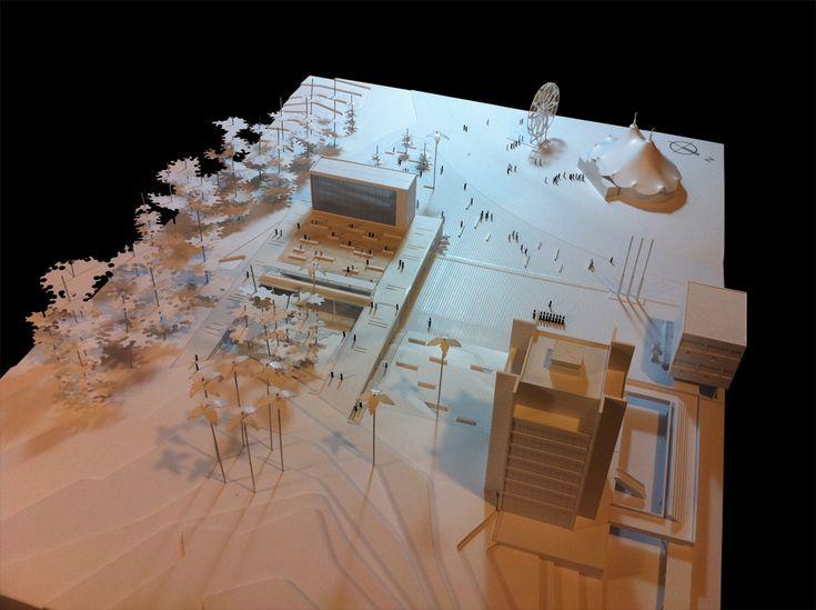 Galería de Segundo lugar Concurso Escuela Naval / Prado Arquitectos - 8