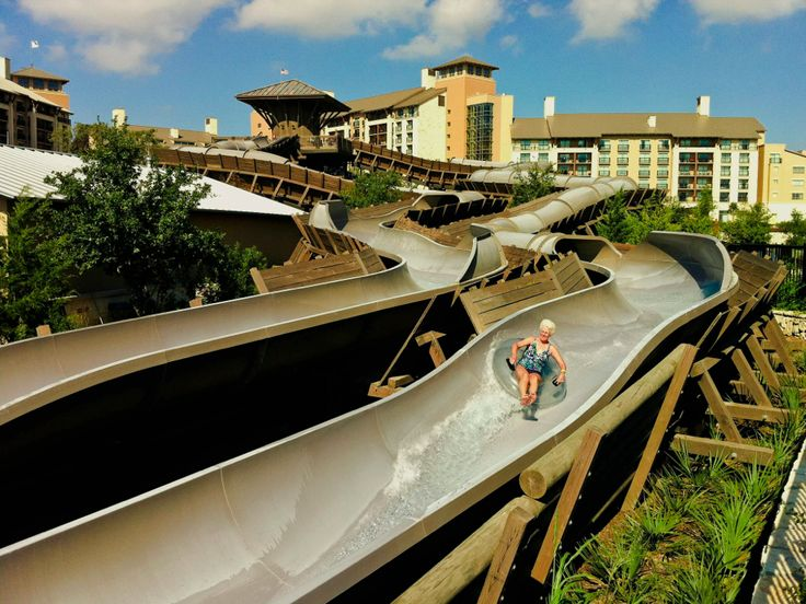 Water Slide Fun At Jw Marriott San Antonio Jwsanantonio