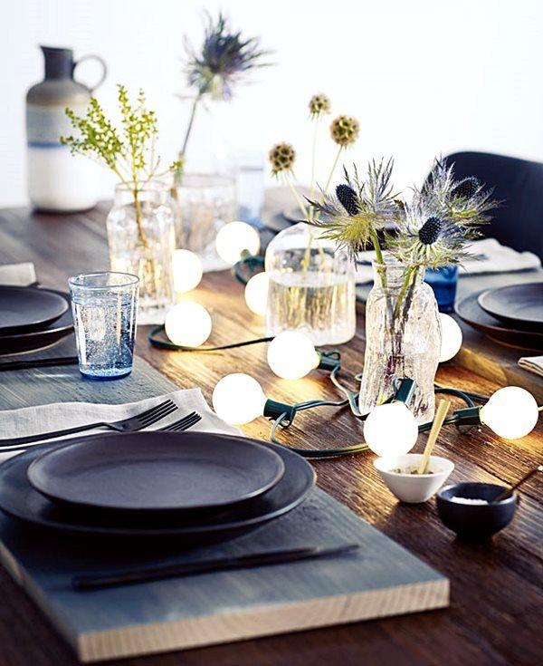 Então, já vimos arvores de Natal, seus enfeites, a decoração da casa e agora vamos pensar na mesa da ceia de Natal, certo? Tenho aqui 20 ideias prá você!