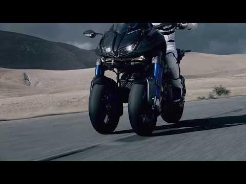 La Nouvelle Yamaha Niken 2018 Sera La Première Moto à 3 Roues Elle