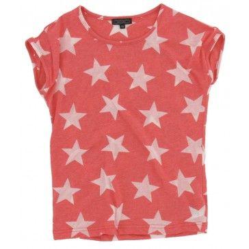 Geisha - T-shirt Ster rood