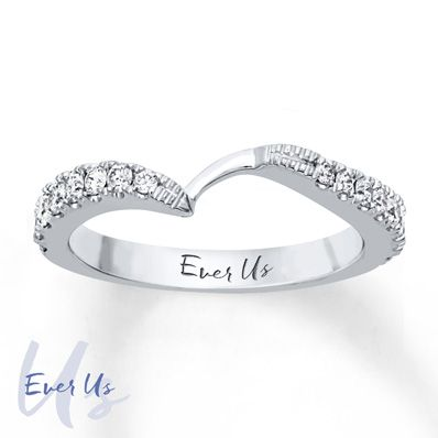 Ever Us Band 1/2 ct tw Diamonds 14K White Gold