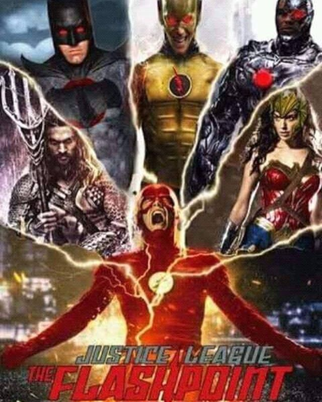 Flash point paradox is probably one of my favourite animated DC films ⚡️ it would be so cool if this actually happened with all the JLA have a good day everyone