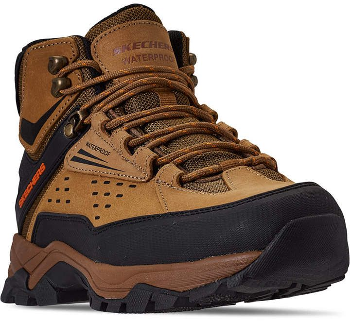 Skechers Men S Relaxed Fit Polano Norwood Hiking Boots From Finish