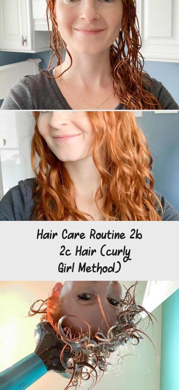 Hair Care Routine 2b 2c Hair (curly Girl Method Curly