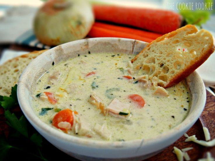 I do indeed love this creamy chicken soup. It is my current favorite version of this recipe and it is definitely worth trying.