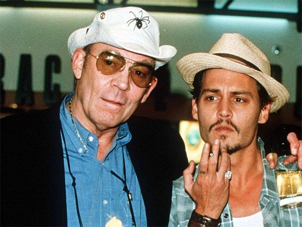 Hunter S. Thompson's Iconic and Famous Friends