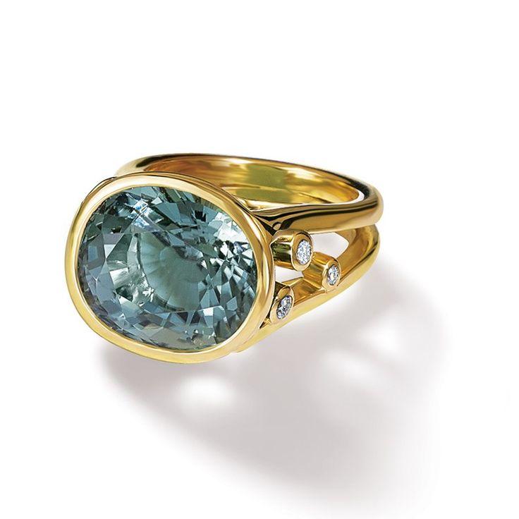 Cassandra Goad | Manuela Green Tourmaline Ring