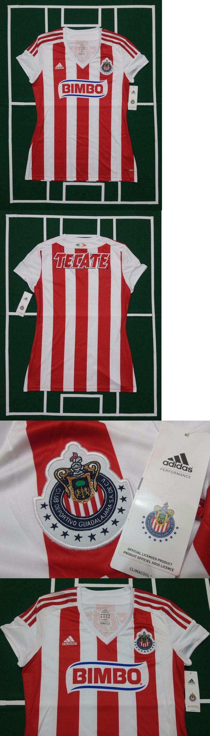 Women 159098: Adidas Chivas De Guadalajara Women Local Home Jersey -> BUY IT NOW ONLY: $38.9 on eBay!