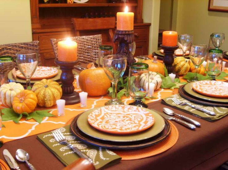 Decorating Ideas > 10 Models For Candles Effect Kitchens Decorations  DIY  ~ 071759_Thanksgiving Kitchen Decorations