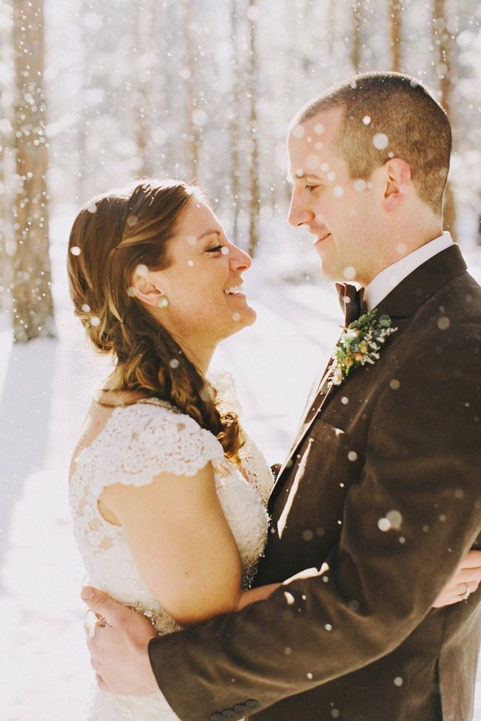 Fabulous Bend Oregon Winter Wedding