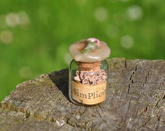 Simplicity Spell Bottle.