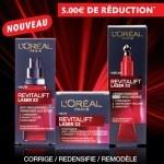 L'Oréal Paris : économisez 5€ sur Revitalift Laser !