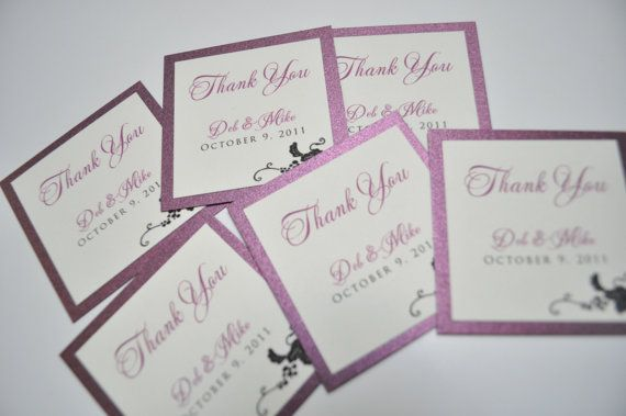 Wedding Favor tags Welcome bag tags by JaxDesigns27 on Etsy, USD1.25