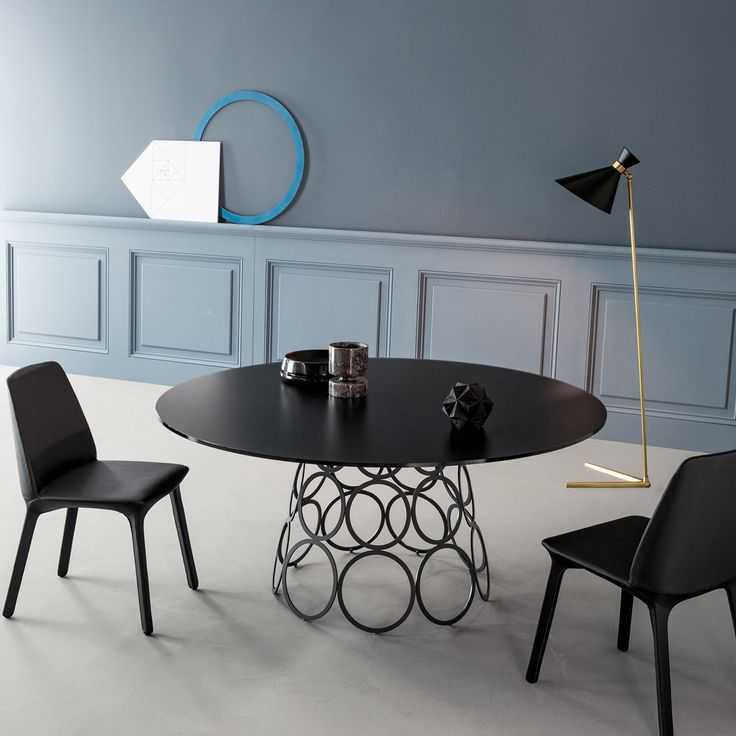 Bonaldo Hulahoop Casarredocoza Round Dining TablesTable And ChairsDining RoomGame