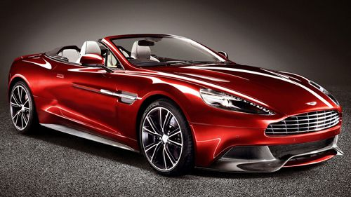 2015 Aston Martin Vanquish Volante Volcano Red The