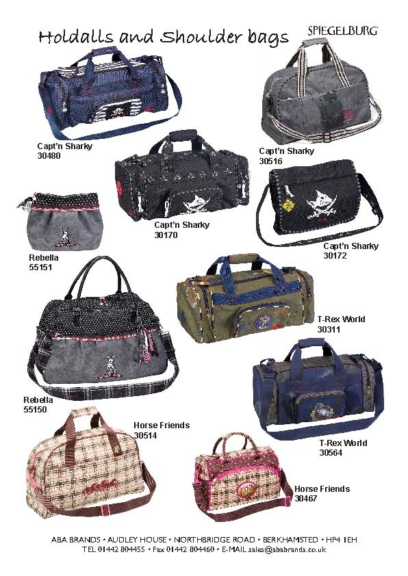 Childrens Holdalls and weekend Bags