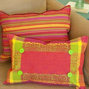 placemat idea . pillow pairs . familycircle.com