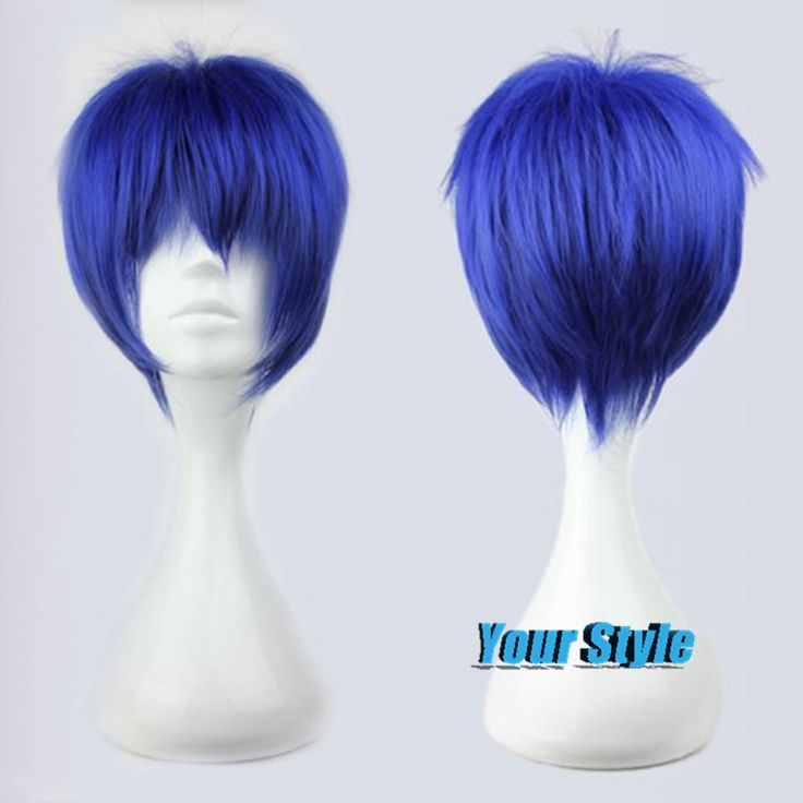30CM Synthetic Cute Short Haircuts Anime Cosplay Haircuts Short Hair Short Hair Cuts Picture Halloween Party Japanese Man Wig
