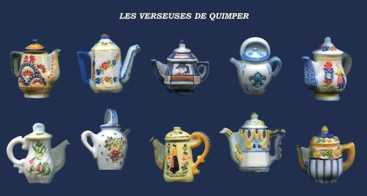 Feves Rares Perso LES Verseuses DE Quimper 10 Sujets FB   eBay