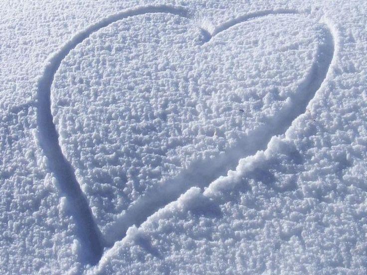 Amor en invierno wallpaper.