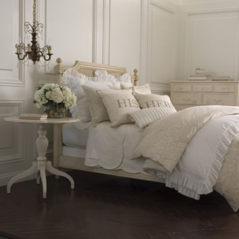 anna tattered white ruffle duvet cover white ethan allen furniture