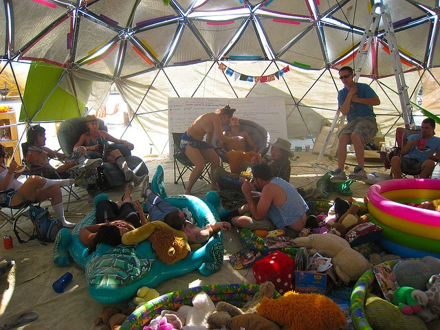 Things learned about home decor from Burning Man