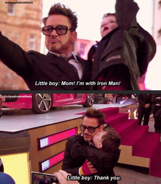 Robert Downey Jr. being Robert Downey Jr.