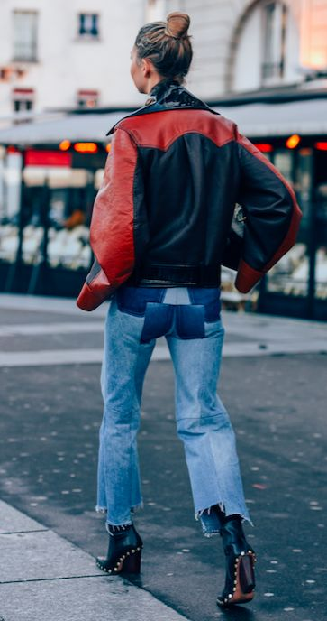 VETEMENTS, DENIM, REWORKED DENIM, STYLEDOTCOM, LUXURY FASHION, STREET STYLE, TOMMY TON, PATCHWORK DENIM,