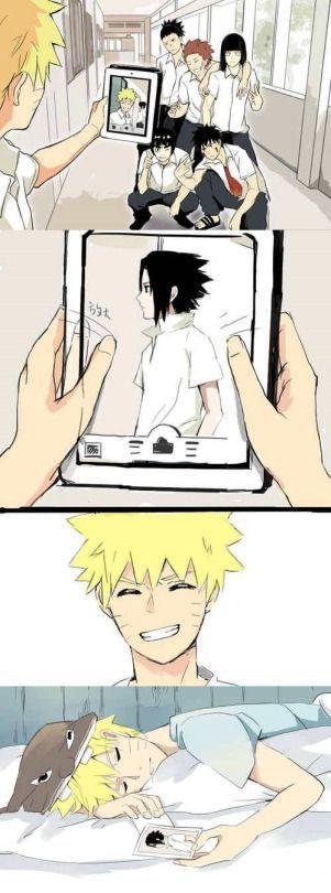 Naruto sempre amou o Sasuke apenas aceitem