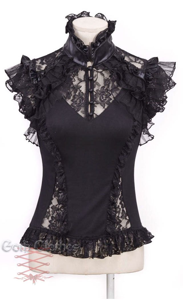Gothic Tops Goth clothes :: gothic clothes