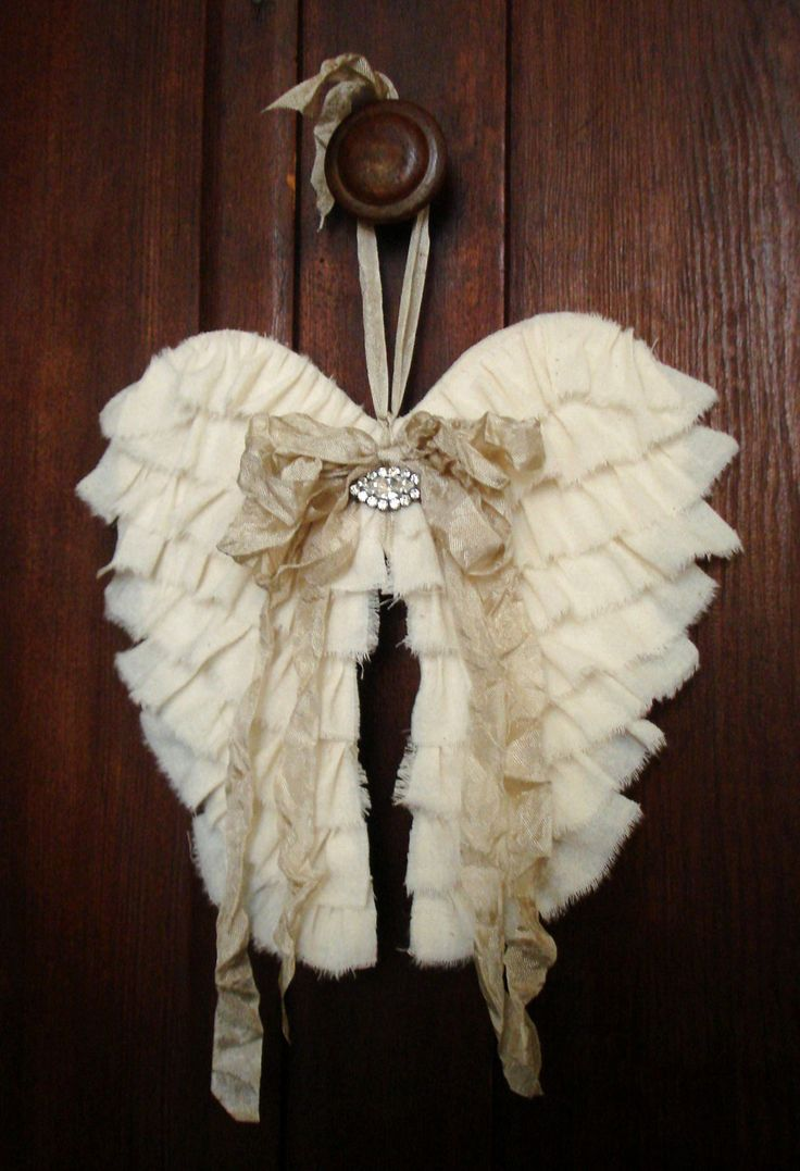 Fabric Angel Wings