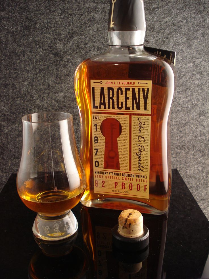 Larceny Bourbon great bargain, bargain! As good as many at twice the price.